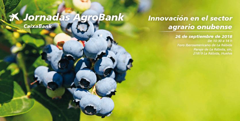 Jornadas Agrobank sobre la innovación en el sector agrario el 26 de septiembre