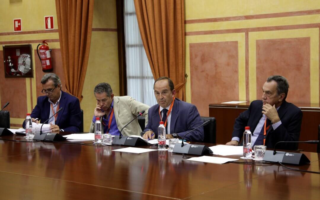 Freshuelva defiende en el Parlamento sus enmiendas a la Ley de Agricultura