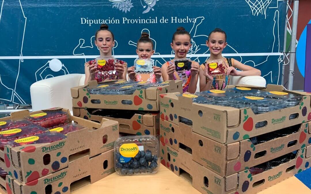 Los berries de Freshuelva, presentes en el 33 Trofeo Diputación de Gimnasia Rítmica
