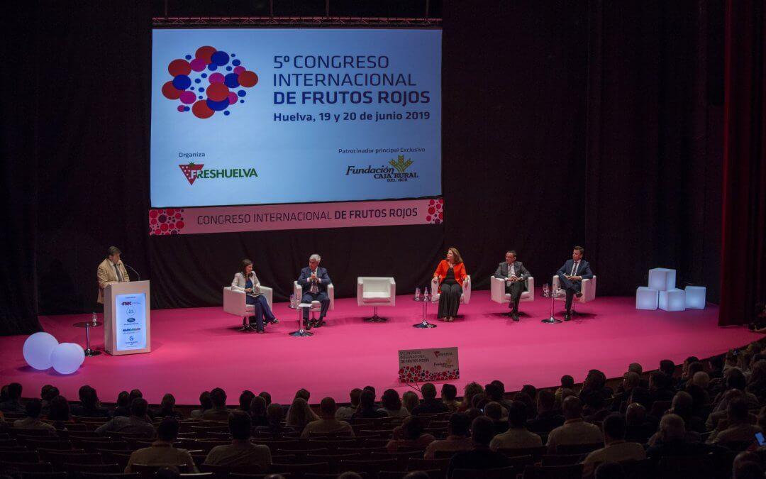 Freshuelva pospone a septiembre la celebración del 6º Congreso Internacional de Frutos Rojos