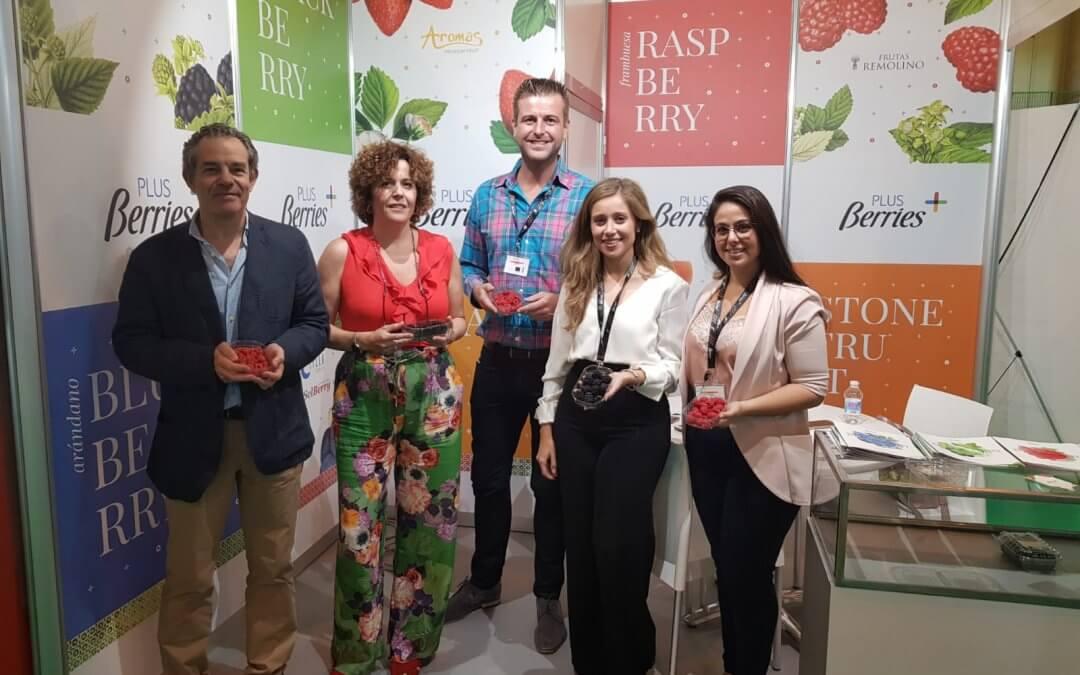 Los berries onubenses presentes en una nueva edición de Andalucía Sabor