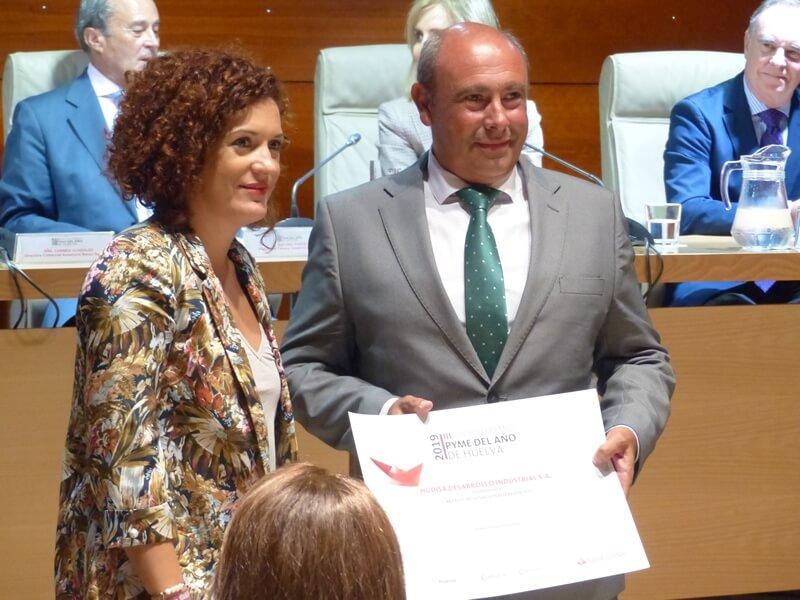 Hudisa recibe el premio a la Internacionalización 2019 de los Premios Pyme de la Cámara de Comercio