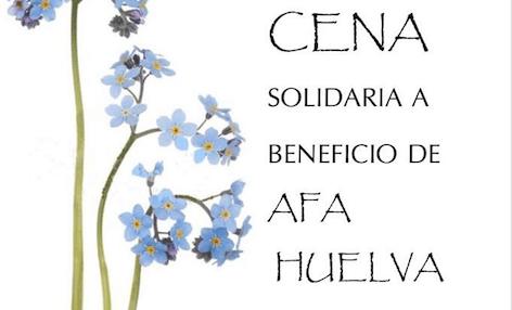 Cena solidaria a beneficio de AFA Huelva el próximo día 8 en Aqualón