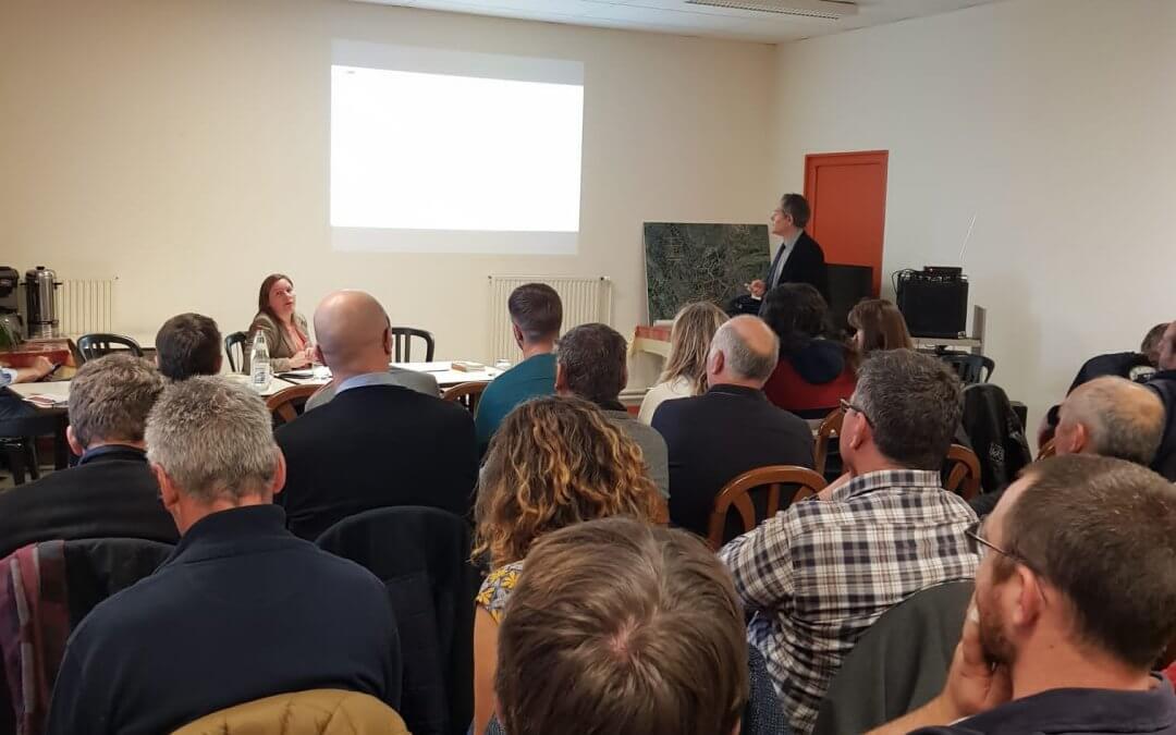 Freshuelva expone su experiencia comercializadora en Europa en la junta anual de la asociación de productores de fresas de Francia