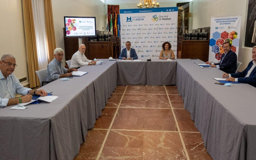 Freshuelva renueva su convenio de colaboración con la Diputación de Huelva