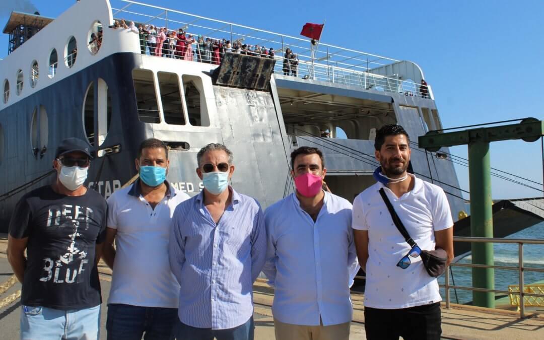 Finaliza con éxito el operativo para el regreso a Marruecos de las 7.100 contratadas en origen para la campaña de berries