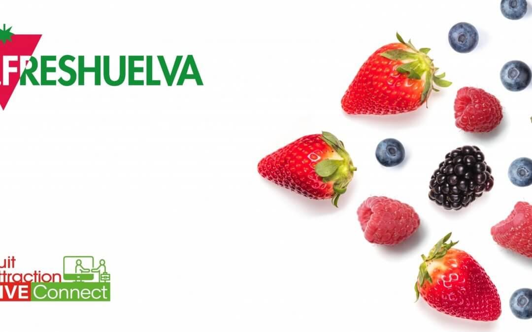 Freshuelva promociona sus berries en la primera edición telepresencial de la historia de Fruit Attraction
