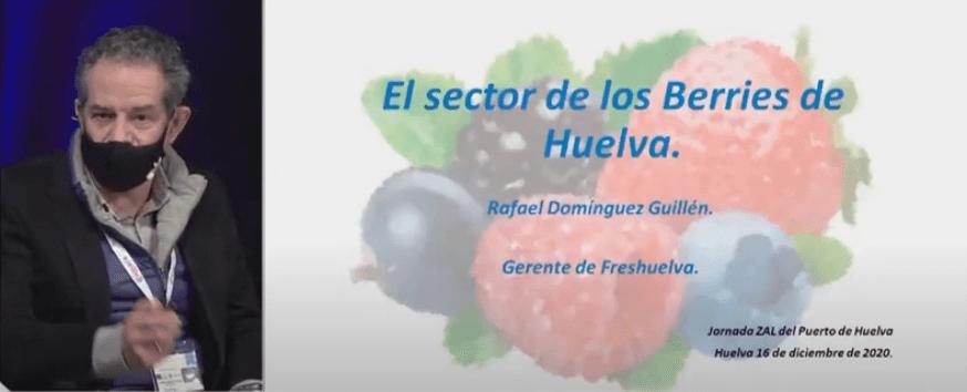 Freshuelva participa en la jornada de presentación de la ZAL del Puerto de Huelva a los empresarios