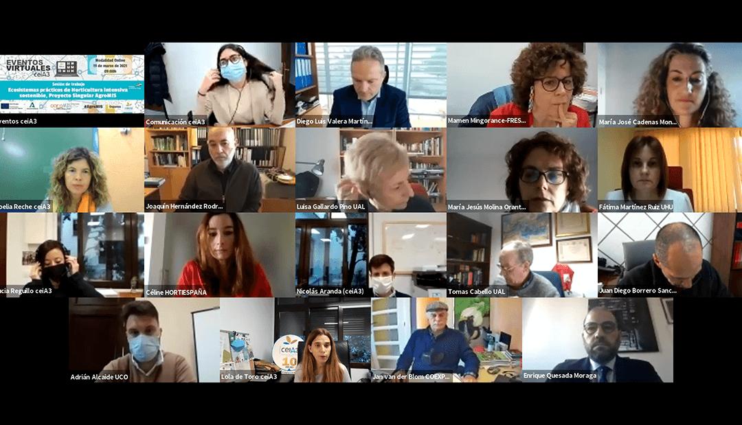 Freshuelva participa en la reunión de los grupos de investigación del proyecto AgroMis que impulsa el CeiA3