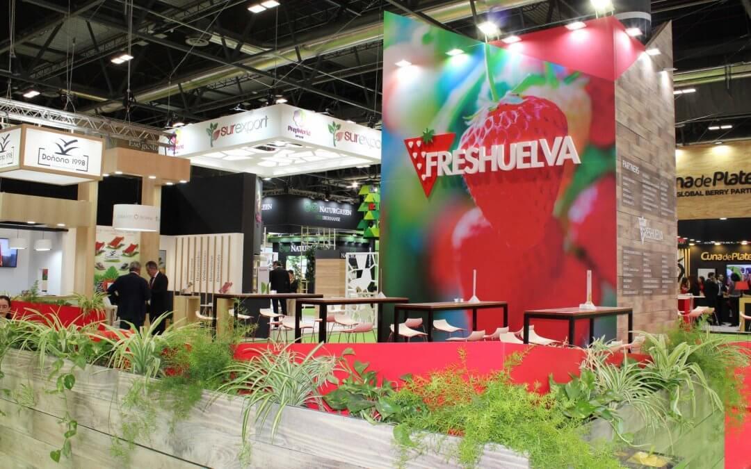 Freshuelva vuelve a Fruit Attraction para promocionar las cualidades nutritivas de sus berries