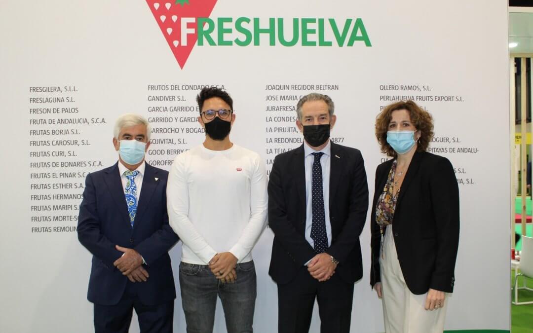 Freshuelva exhibe su apuesta por la salud, la sostenibilidad y la diversificación en Fruit Attraction